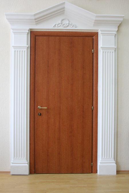 Оформление дверей своими руками