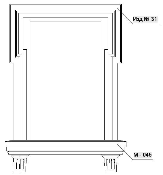 Декор из полиуретана екатеринбург