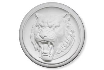 Барельеф Тигр - символ 2010 года