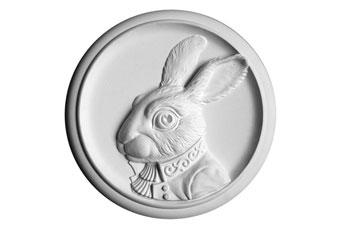 Барельеф Кролик - символ 2011 года