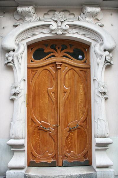 варианты входных модерн дверей