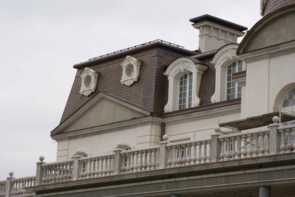 архитектурный декор барочного замка