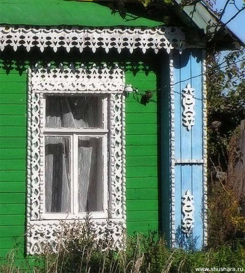 Наличник. Село Красная Гора