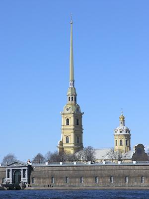 Шпиль Петропавловской крепости, Санкт-Петербург