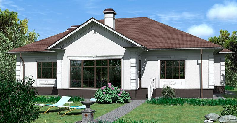 как украсить фасад дома лепниной, дизайн загородного дома, декор в белых тонах