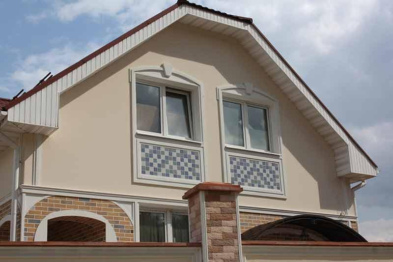 фото красивые окна, ремонт окон - улучшение внешнего вида дома, оформление новых окон