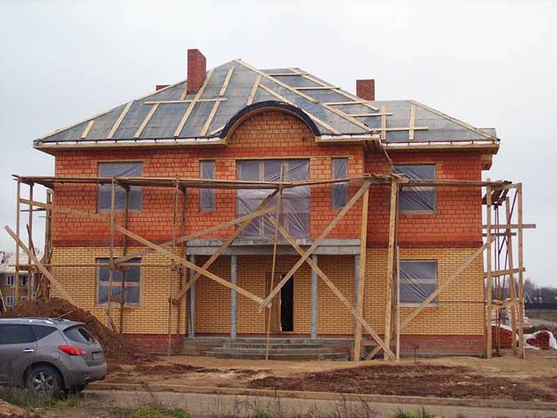 Строительство загороднего дома, отделка, сделать красивый фасад, дизайн дома