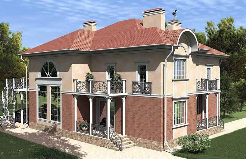 переделать внешний вид дома, декорировать фасад, ремонт дома, вариант улучшения фасада
