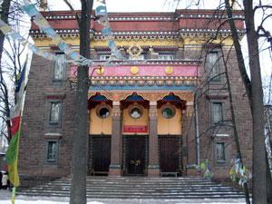 буддийский храм Барановского