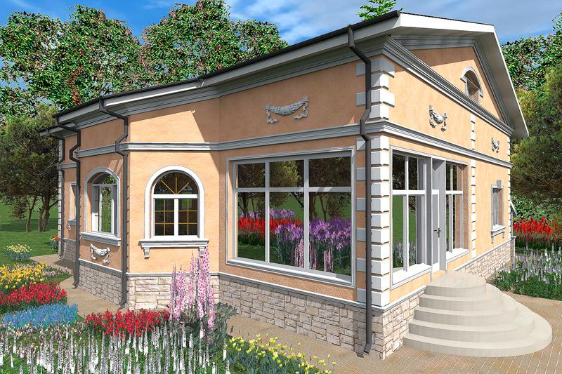 купить лепнину из полиуретана, ремонт загородного дома, обновление фасада, как улучшить внешний вид дома, проекты частных домов, домик с декором