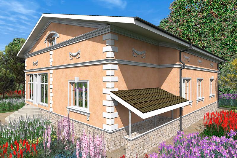 строительство и отделка дома, коттеджи и гаражи на загородном участке, проекты коттеджей и домов, как украсить свой дом, оформелние фасада