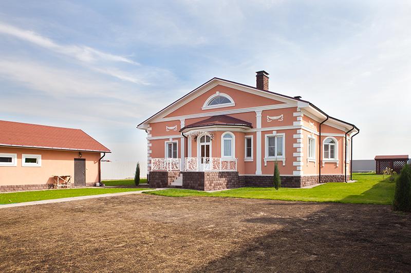 Красивые дома - фаадная лепнина Регент Декор