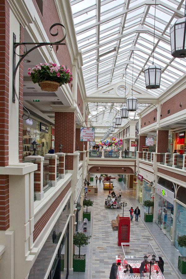 дизайн торгового центра