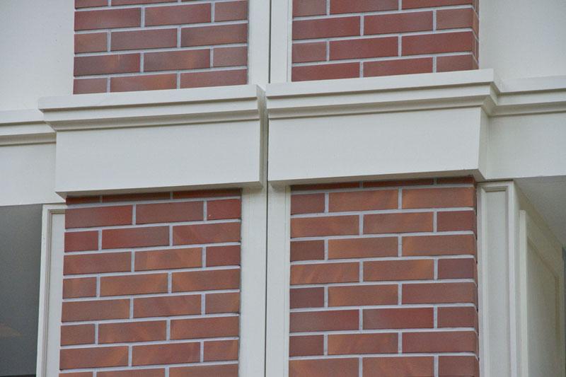 Оформление двойной колонны