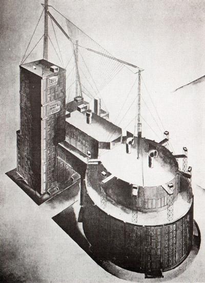 советская архитектура, конструктивизм, братья веснины, проект дворца труда в москве, авангард, архитектурные стили