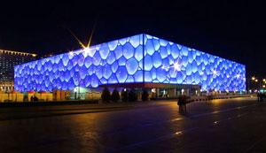 Пекинский аквацентр Водный куб