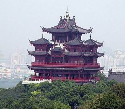 Башня Чэнхуангэ в Ханчжоу