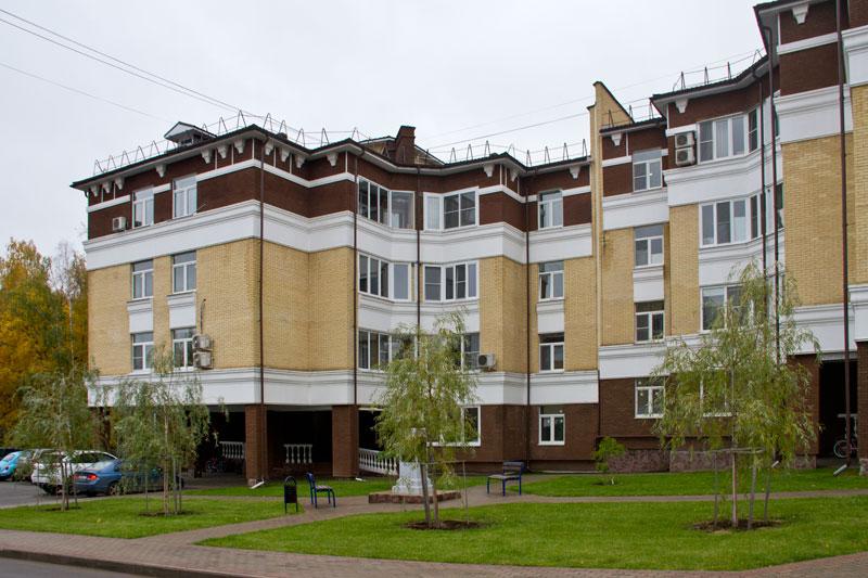 Заселенная часть жилого комплекса