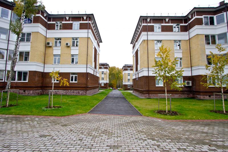 Фасады оформленные полиуретановым фасадным декором