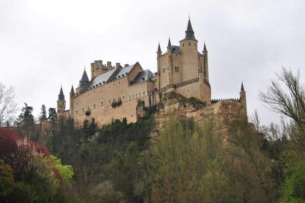 алькасар, крепость, замок, укрепление, испанские рыцари, испания, сеговия, архитектура, термин