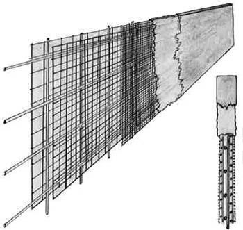 что такое армоцемент, вид железобетона, бетон, структура, арматура