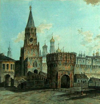 барбакан, укрепление, башня, Кутафья башня московского кремля, архитектура, крепость