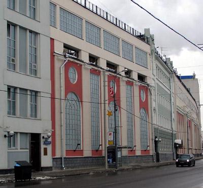 здание котельной МОГЭС, проект архитектора Жолтовского, конструктивизм, неоклассика, советский дизайн
