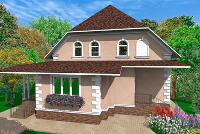 дизайн проект, отделка дома, полиуретановая лепнина, фасад загородной резиденции, как оформить дом