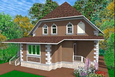 дизайн-проект, проект дизайна фасада здания, красивые дома, лепнина из полиуретана регент декор, сравнение вариантов отделки дома