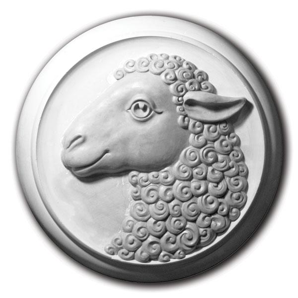 Барельеф Овца