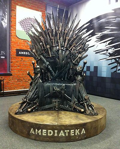 """трон из сериала """"Игра престолов"""", изделия из полиуретана, как сделать макет трона из Песен льда и пламени"""