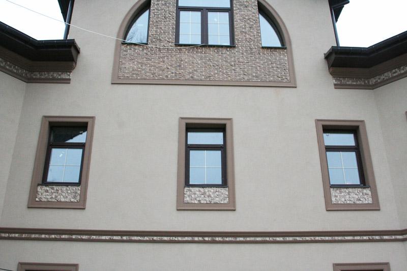 отделка окон фасада