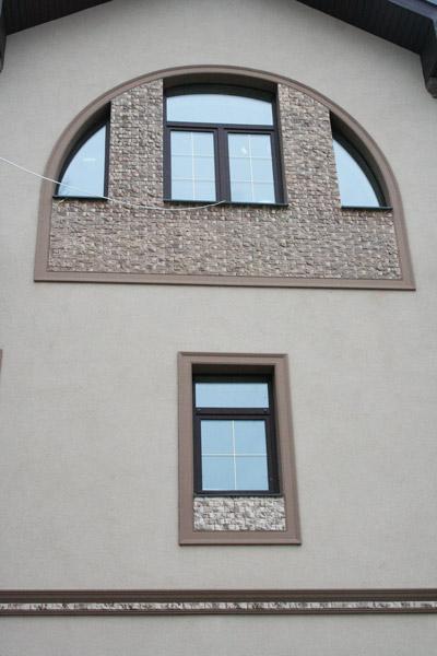 украсить окна аркой