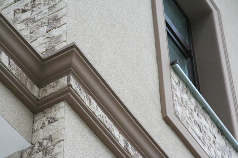 карнизы из полиуретана фасадные