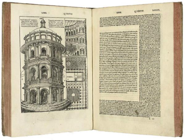 """Книга Витрувия """"Десять книг об архитектуре"""", античная архитектура, статья об архитекторе"""